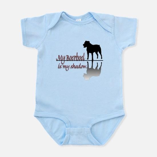 My Boerboel is My Shadow Infant Bodysuit
