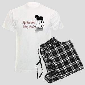 My Boerboel is My Shadow Men's Light Pajamas