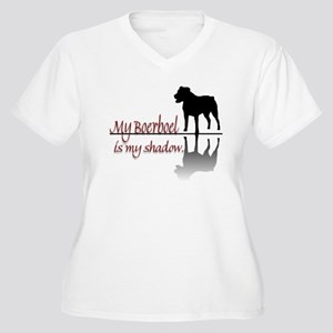 My Boerboel is My Shadow Women's Plus Size V-Neck