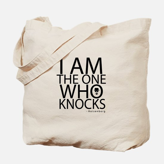'The One Who Knocks' Tote Bag