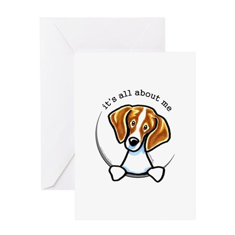 Beagle IAAM Greeting Card