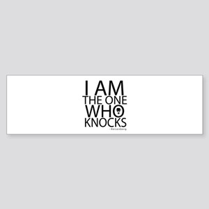 'The One Who Knocks' Sticker (Bumper)