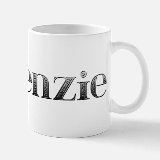 Makenzie Carved Metal Mug