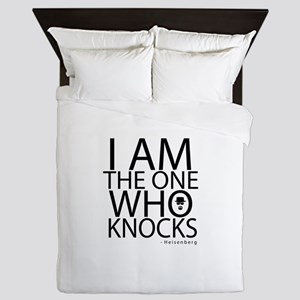 'The One Who Knocks' Queen Duvet