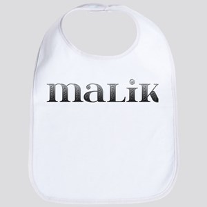Malik Carved Metal Bib