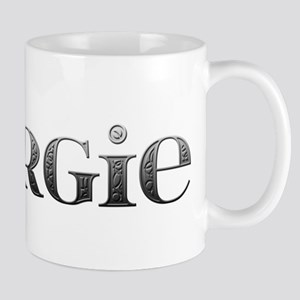 Margie Carved Metal Mug