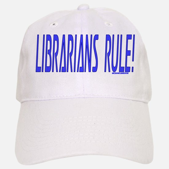 Librarians Rule! Baseball Baseball Cap
