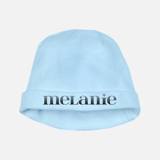 Melanie Carved Metal baby hat