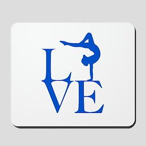 Love Gymnastics Mousepad