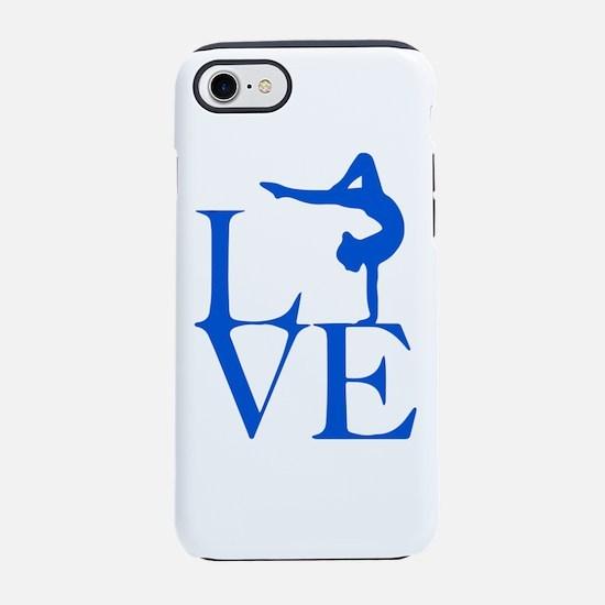 Love Gymnastics iPhone 7 Tough Case