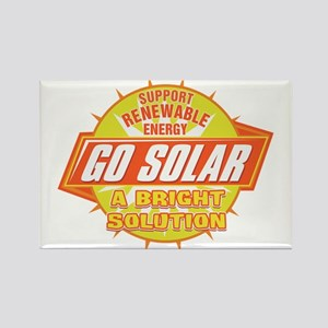 Go Solar Bright Solution Rectangle Magnet
