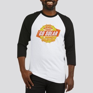 Go Solar Bright Solution Baseball Jersey