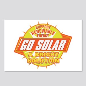 Go Solar Bright Solution Postcards (Package of 8)