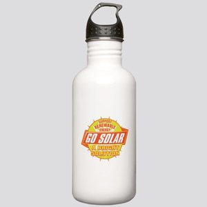 Go Solar Bright Solution Stainless Water Bottle 1.