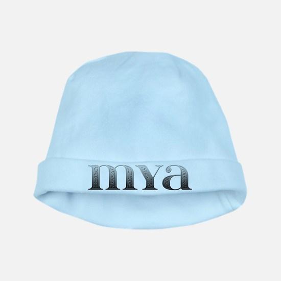 Mya Carved Metal baby hat