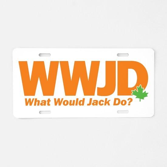 WWJackDo Aluminum License Plate