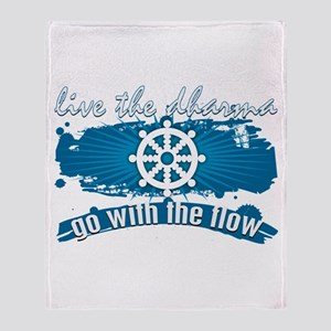 Dharma Go With the Flow Throw Blanket