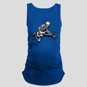 Skeleton Guitarist Jump Tank Top