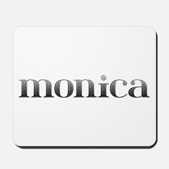 Monica Carved Metal Mousepad