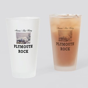 ABH Plymouth Rock Drinking Glass