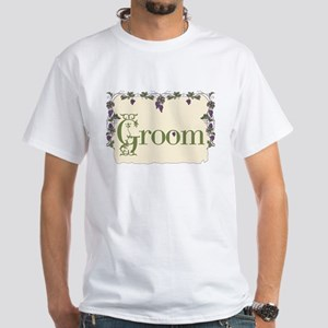 Groom White T-Shirt