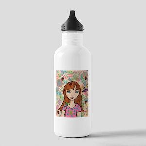 Kritter Girl Stainless Water Bottle 1.0L