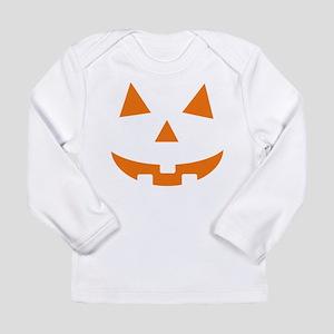 Jack O Lantern Belly Long Sleeve Infant T-Shirt