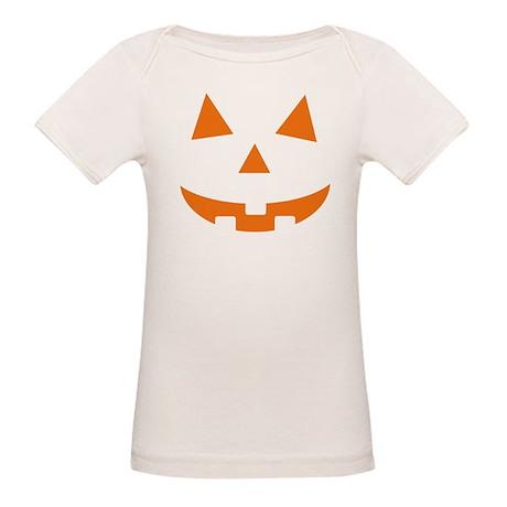 Jack O Lantern Belly Organic Baby T-Shirt
