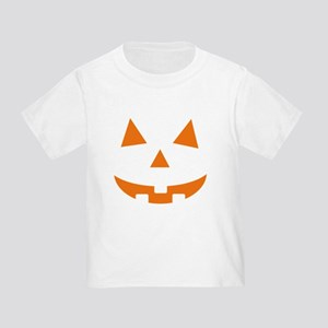 Jack O Lantern Belly Toddler T-Shirt