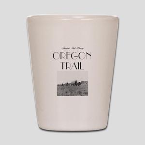 ABH Oregon National Historic Trail Shot Glass