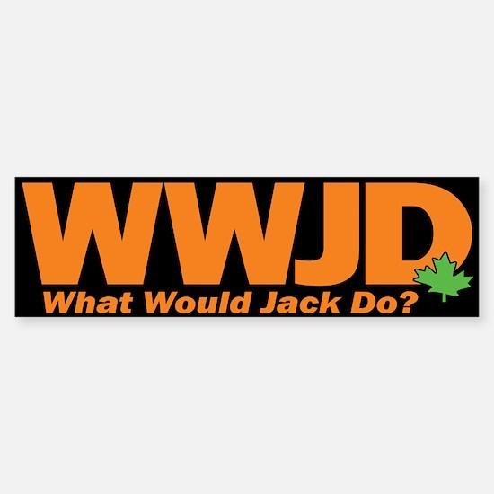 WWJackDo Sticker (Bumper)