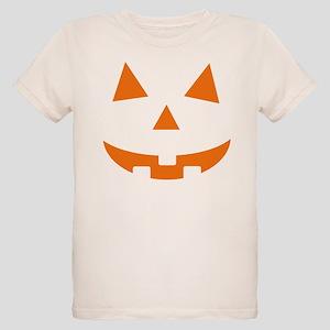 Jack O Lantern Belly Organic Kids T-Shirt