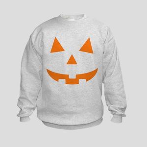 Jack O Lantern Belly Kids Sweatshirt