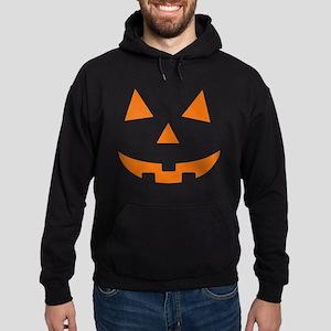 Jack O Lantern Belly Hoodie (dark)