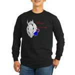 First in My Heart Long Sleeve Dark T-Shirt