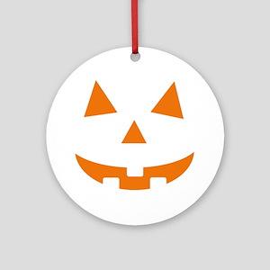 Jack O Lantern Ornament (Round)