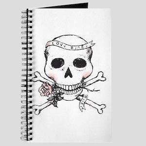 Skull - Love Bites Journal