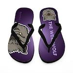 The Werewolf (Gray) Flip Flops