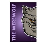 The Werewolf (Gray) Postcards (Package of 8)
