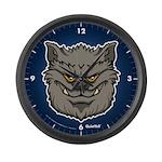 The Werewolf (Gray) Large Wall Clock