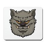 The Werewolf (Gray) Mousepad