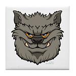 The Werewolf (Gray) Tile Coaster