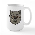 The Werewolf (Gray) Large Mug