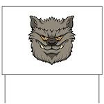 The Werewolf (Gray) Yard Sign