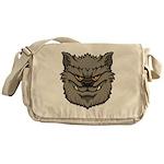 The Werewolf (Gray) Messenger Bag