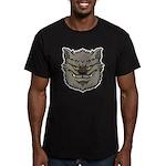 The Werewolf (Gray) Men's Fitted T-Shirt (dark)