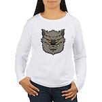 The Werewolf (Gray) Women's Long Sleeve T-Shirt