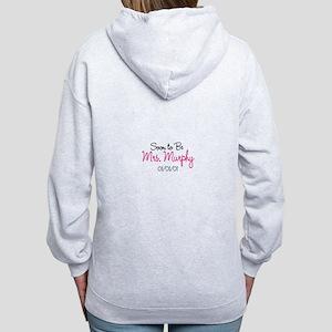 Custom Soon to Be Mrs. Women's Zip Hoodie