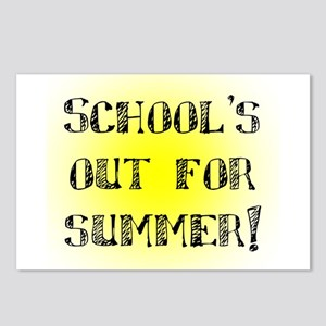 School's Out for Summer Postcards (Package of 8)