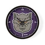The Werewolf (Gray) Wall Clock